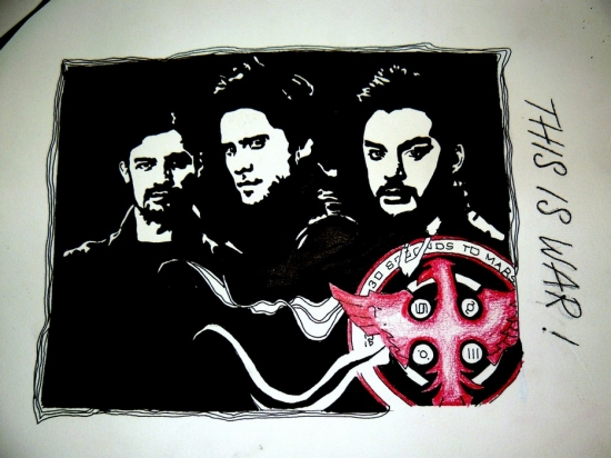 30 Seconds to Mars by spiirit-of-rock-x